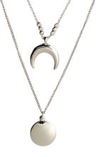Multistrand necklace - Silver - Ladies | H&M CN 2