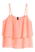 Tiered top - Apricot - Ladies | H&M CN 2