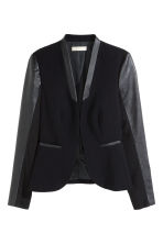 Figure-fit jacket - Black - Ladies | H&M CN 2