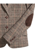Checked jacket in a wool blend - Brown/Checked - Ladies | H&M GB 3