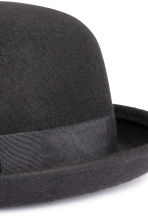Wool hat - Black - Ladies | H&M CN 2