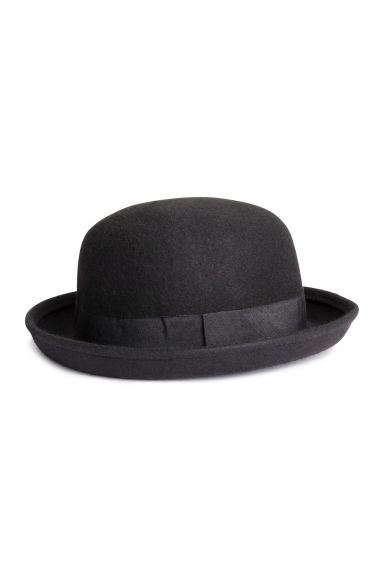 Wool hat - Black - Ladies | H&M CN 1