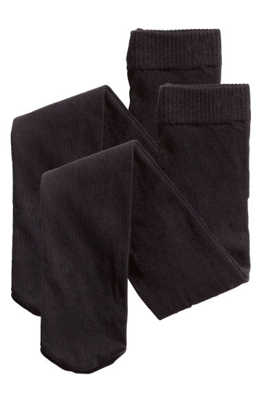 Lot de 2 collants - Noir - ENFANT | H&M CH 1