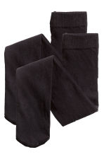 Lot de 2 collants - Noir - ENFANT | H&M FR 2