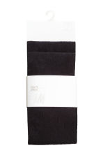 2-pack tights - Black - Kids | H&M CN 3