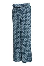 MAMA Pantaloni ampi - Blu scuro/fantasia - DONNA | H&M IT 2