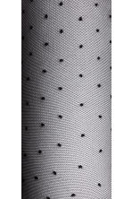 Spotted tights - Black/Spotted - Ladies | H&M CN 4