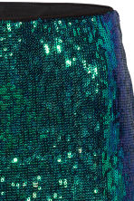 Glittery skirt - Green - Ladies | H&M CN 3