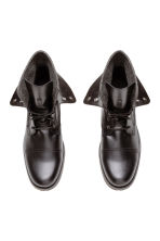 Bottines à tige double - Noir - HOMME | H&M FR 2