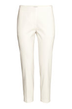 Suit trousers - Natural white - Ladies | H&M CN 2