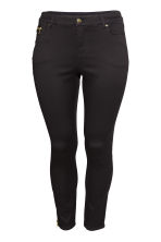 H&M+ Slim Regular Ankle Jeans - Nero - DONNA | H&M IT 2
