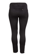 H&M+ Slim Regular Ankle Jeans - Nero - DONNA | H&M IT 3