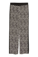 Patterned trousers - Black - Ladies | H&M CN 2