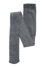 Glittery tights - Dark grey - Kids | H&M CN 2