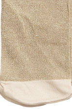 Glittery tights - Beige/Gold - Kids | H&M CN 3