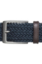 Braided belt - Dark blue - Men | H&M GB 3