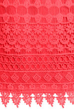 Lace dress - Neon coral - Ladies | H&M CN 3