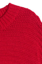 Knitted jumper - Red - Ladies | H&M GB 3