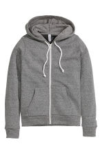 Hooded jacket - Dark grey - Ladies | H&M CN 2
