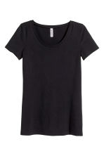 Jersey top - Black - Ladies | H&M CA 5
