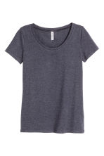 Jersey top - Dark blue - Ladies | H&M 5