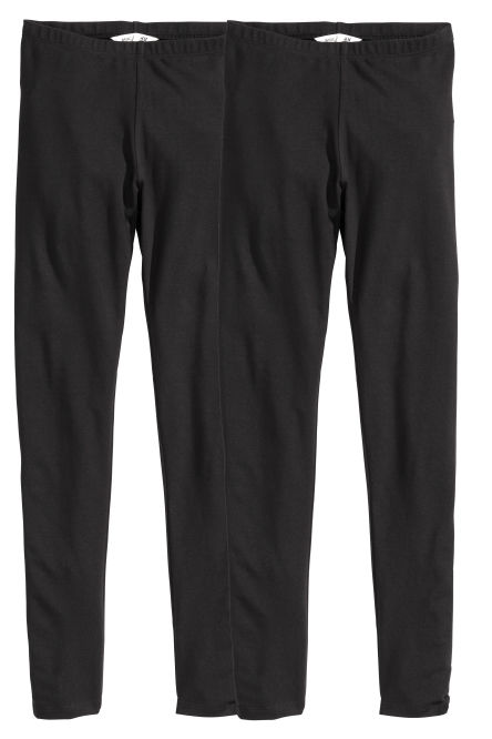 Lot de 2 leggings