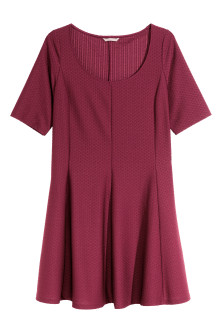 H&M+ Textured jersey dress