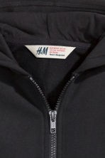 Hooded jacket - Black - Kids | H&M CN 3