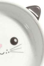 Small bowl - White/Cat - Home All | H&M IE 3