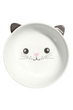 Petit bol - Blanc/chat - HOME | H&M BE 1