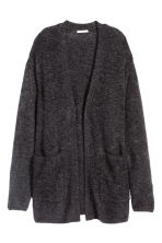 Cardigan in misto mohair - Grigio scuro mélange - DONNA | H&M IT 2