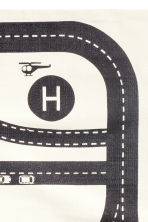 Cotton rug with print motif - White/Car track - Home All | H&M CN 3