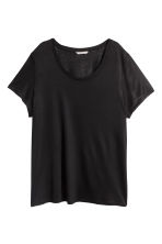 H&M+ Jersey top - Black - Ladies | H&M CN 2