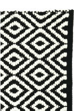 Jacquard-weave bath mat - Black/Patterned - Home All | H&M CN 3