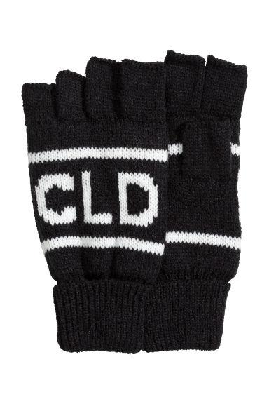 Fingerless gloves h m - Fingerless Gloves Black Men H M