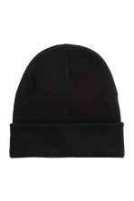 Knitted hat - Black - Men | H&M CN 1