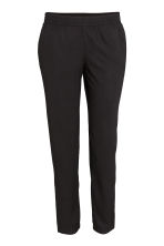 Pull-on trousers - Black - Ladies | H&M 7