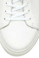 Leather trainers - White - Men | H&M 4