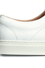 Leather trainers - White - Men | H&M 5