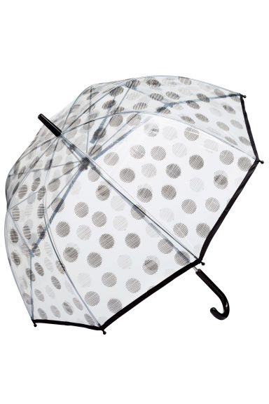 Umbrella - Black/Spotted - Ladies | H&M CN 1