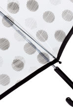 Umbrella - Black/Spotted - Ladies | H&M CN 2