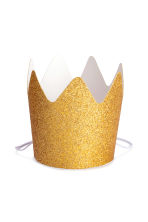 10-pack crowns - Gold/Glittery - Home All | H&M CN 2