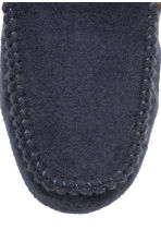 Felt slippers - Dark blue - Men | H&M CN 3