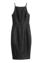 Sleeveless dress - Black/Glitter - Ladies | H&M CN 2