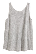 Jersey top - Light grey - Ladies | H&M CN 2