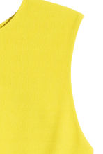 Sleeveless blouse - Yellow - Ladies | H&M CN 4