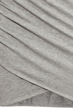 Draped skirt - Grey - Ladies | H&M 7