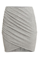 Draped skirt - Grey - Ladies | H&M 6