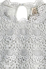 Lace top - Grey - Ladies | H&M GB 3