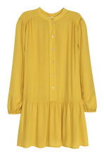 Long-sleeved dress - Yellow - Ladies | H&M GB 2